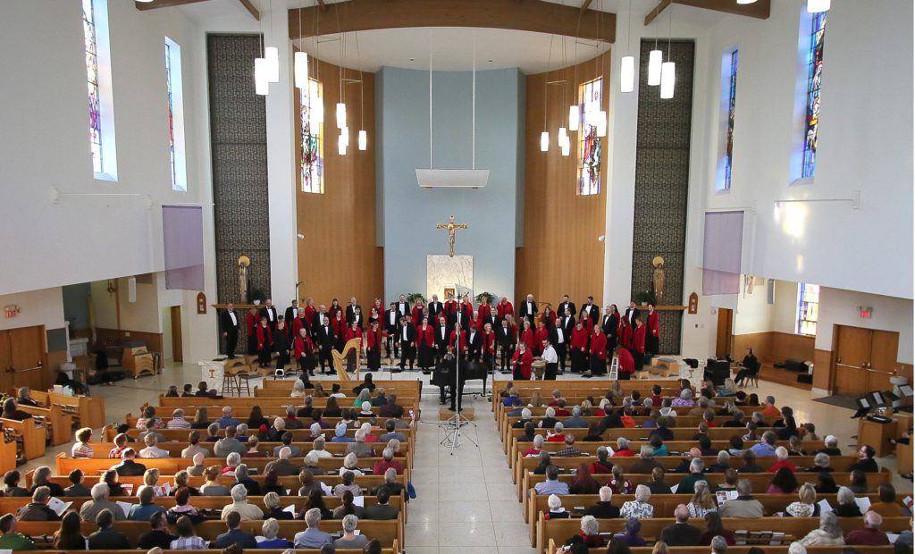 The Oregon Chorale performing in 2018